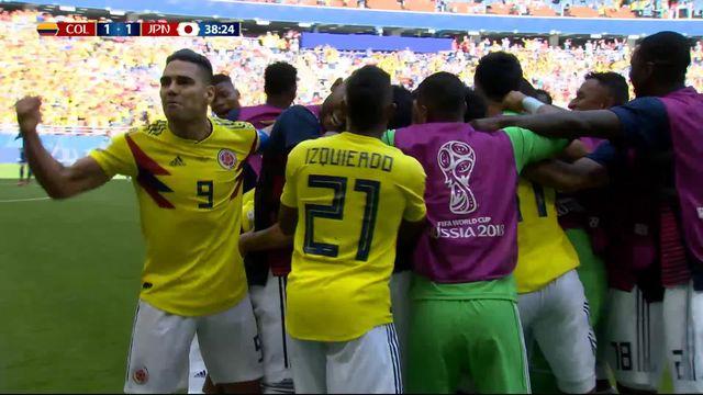 Théo Gonzalez (14 h 40) Gr.H, Colombie – Japon (1-1): 39e, sublime coup franc de Quintero qui égalise! [RTS]