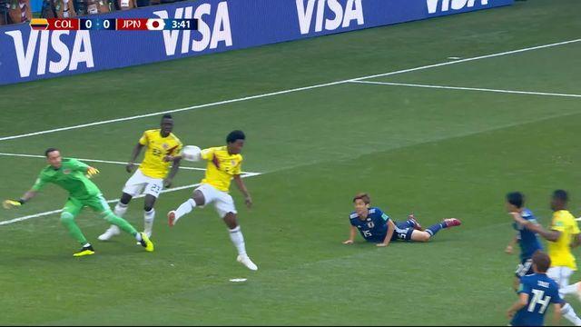 Gr.H, Colombie – Japon (0-0): 4e, carton rouge contre Carlos Sanchez pour un arrêt de la main! [RTS]