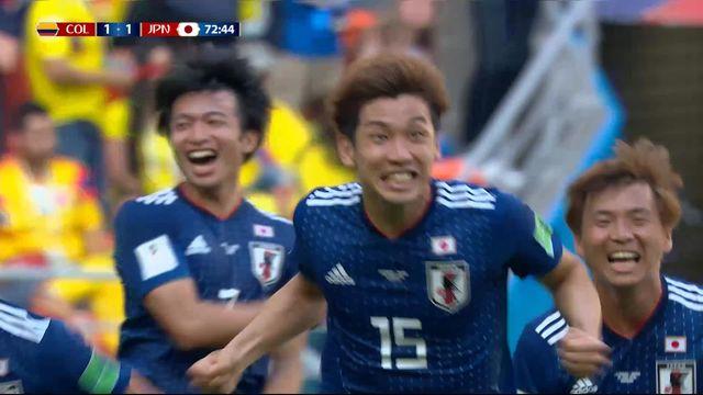 Gr.H, Colombie – Japon (1-2): 74e, Osako donne l'avantage aux siens sur corner [RTS]