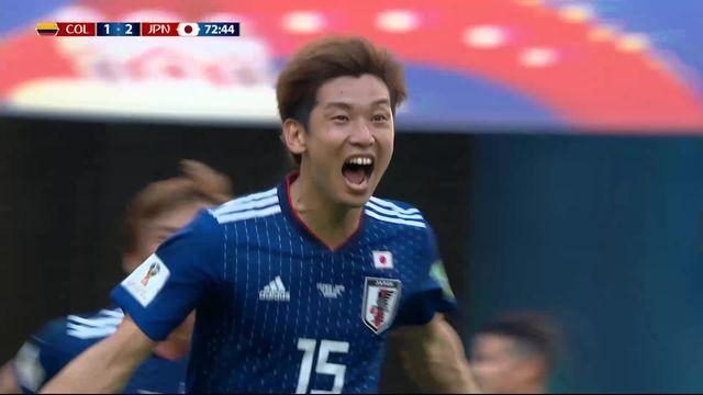 Gr.H, Colombie – Japon (1-2): tous les buts du match [RTS]