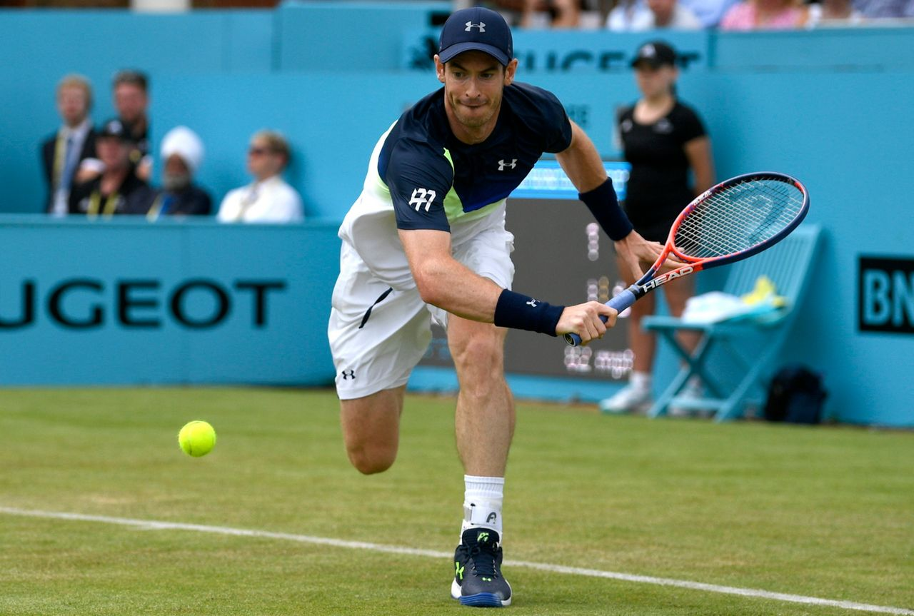 Andy Murray s'est incliné de peu pour son grand retour sur le circuit. [Neil Hall - Keystone]
