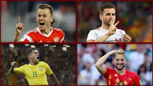 Coupe du Monde FIFA 2018: le Top buts du premier tour