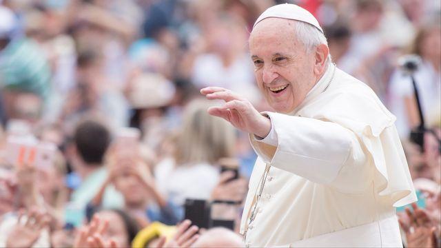 Le pape François, photographié au Vatican le 13 juin 2018. [Massimo Valicchia/NurPhoto - AFP]