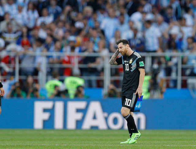 Lionel Messi et l'Argentine n'ont pas droit à l'erreur face à la Croatie. [Victor Caivano - Keystone]
