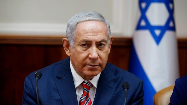 Le Premier ministre israélien s'est félicité de la décision américaine. [Ronen Zvulun - EPA/Keystone]