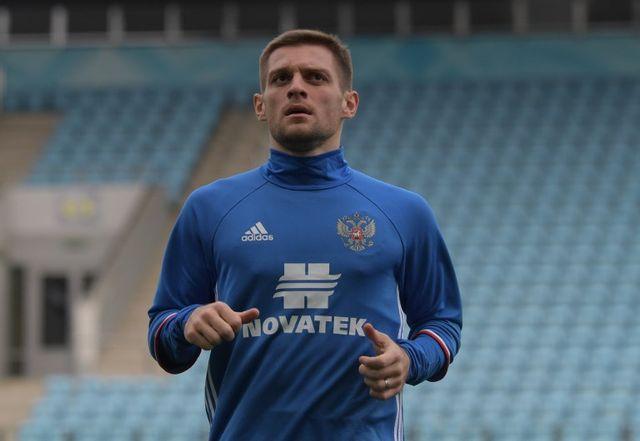 Ruslan Kambolov compte deux sélections avec l'équipe de Russie. [Grigoriy Sisoev - AFP]