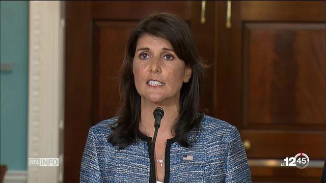 Washington annonce quitter le Conseil des droits de l'homme de l'ONU [RTS]