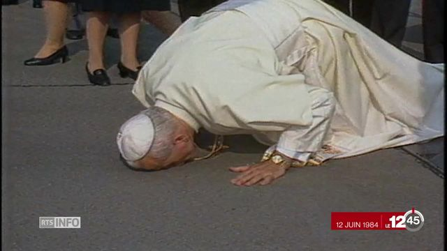 Visite du pape à Genève: la dernière visite en Suisse remonte à il y a 14 ans [RTS]