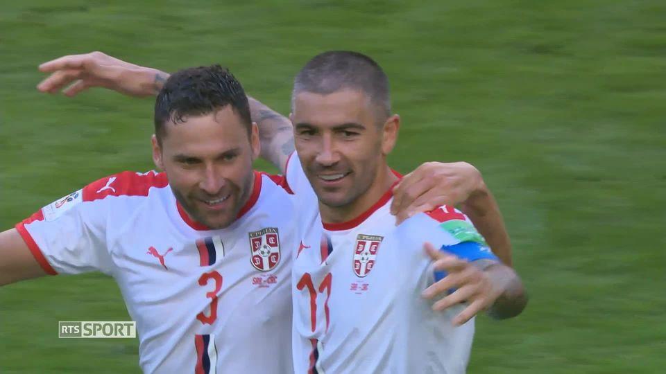 La Serbie en confiance [RTS]