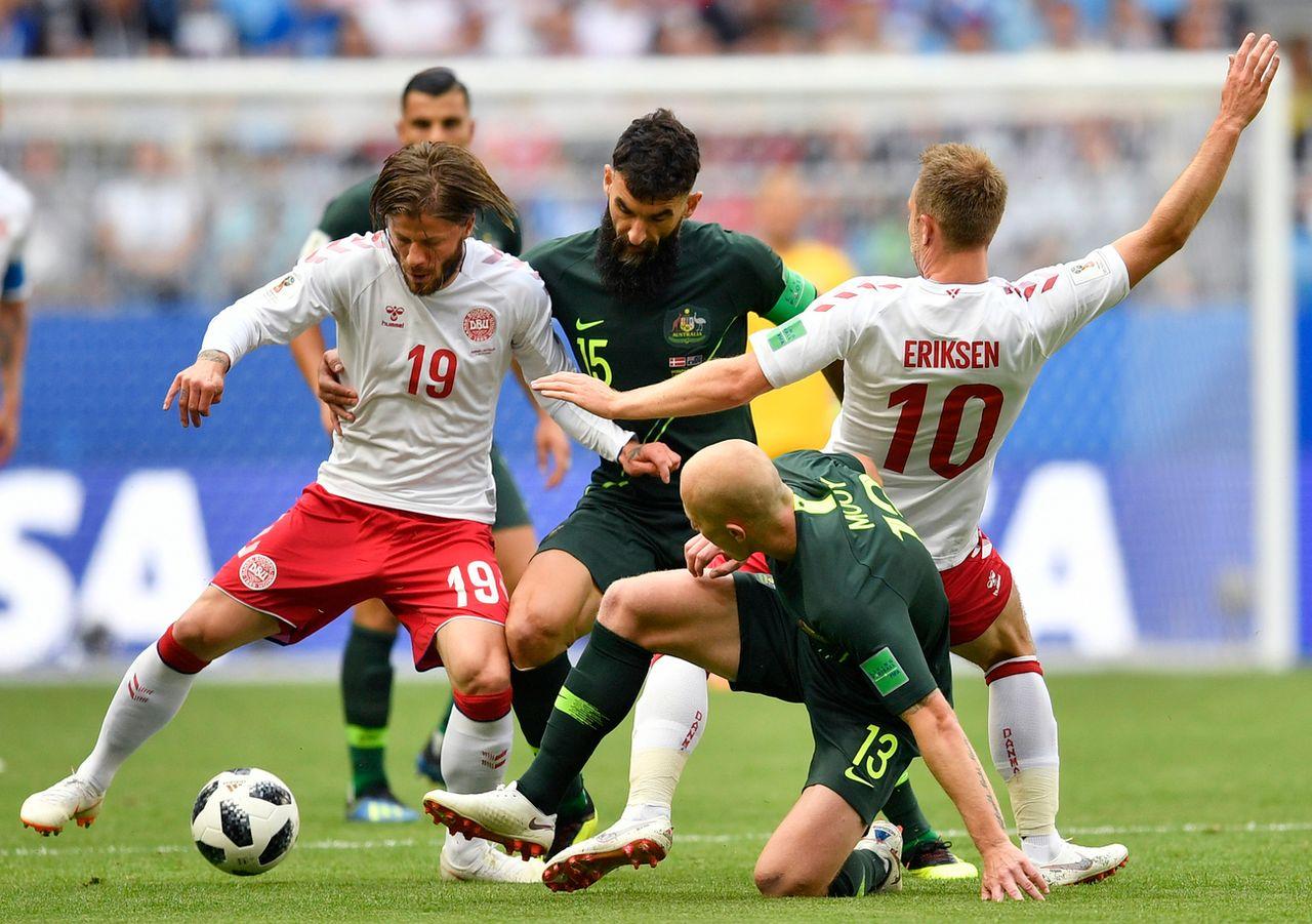 Le Danemark avait pourtant ouvert le score à la 7e minute. [Martin Meissner - Keystone]