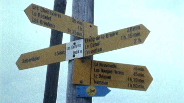 Sentiers pédestres [RTS]