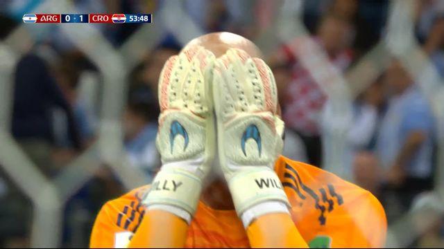 Gr.D, Argentine – Croatie (0-1) : immense erreur de Caballero qui offre le 1-0 à Rebic [RTS]
