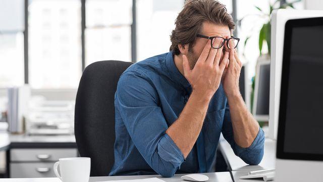 Risques psychosociaux au travail: les entreprises sont plus réactives que proactives. [Rido - Fotolia]