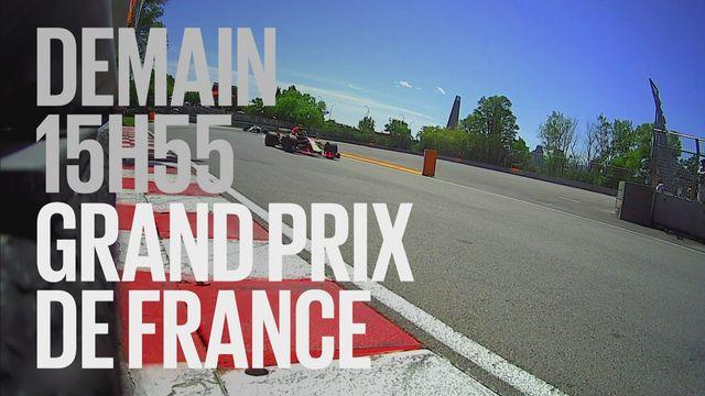 Bande-annonce: Automobilisme F1 Grand Prix de France du 24.06.2018 [RTS]