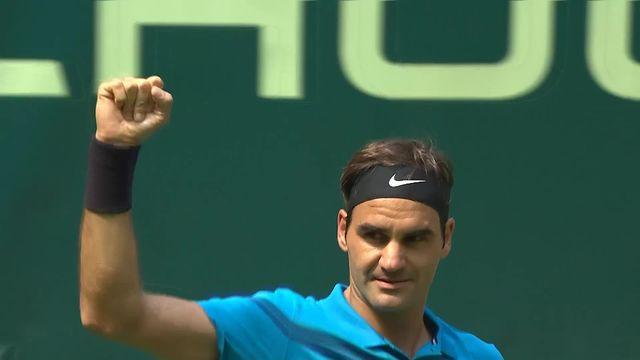 Halle, 1-4, R.Federer (SUI) - M.Ebden (AUS) 7-6, 7-5: Federer s'impose facilement [RTS]
