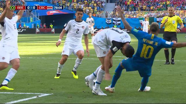 Gr.E, Brésil - Costa Rica (0-0): 78e, l'arbitre annule un penalty après consultation de la VAR [RTS]