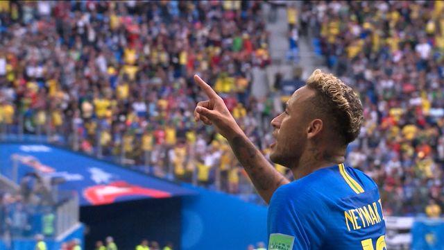 Résumé de Brésil - Costa Rica