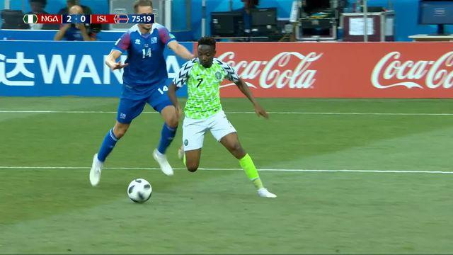 Gr.D, Nigeria - Islande (2-0): 75e, Musa signe un doublé [RTS]
