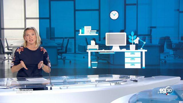 """Delphine Gianora: """"Le coworking cartonne en Suisse."""" [RTS]"""