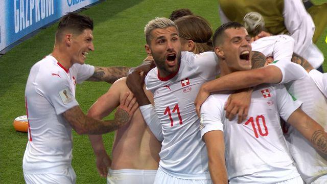 Résumé de Serbie - Suisse (1-2)