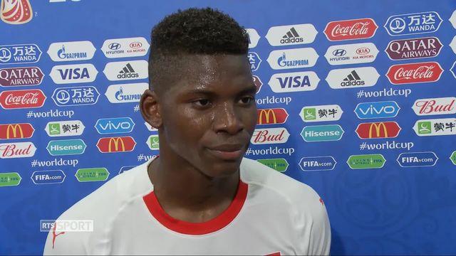 Gr.E, Serbie – Suisse (2-1) : interview de Breel Embolo après la victoire [RTS]
