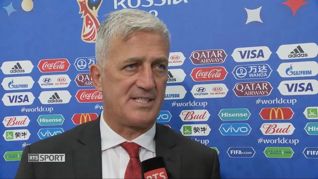 Gr.E, Serbie – Suisse (1-2) : interview de Vladimir Petkovic [RTS]