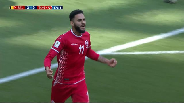 Gr. F, Belgique - Tunisie 2-1: 18e Bronn [RTS]