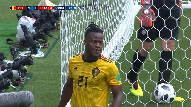 Gr. G, Belgique - Tunisie 5-1 [RTS]