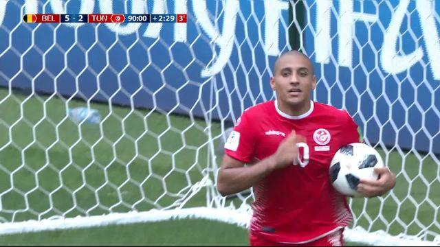 Gr. G, Belgique - Tunisie 5-2 [RTS]