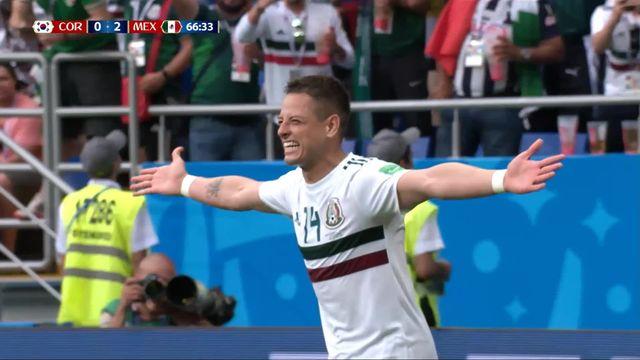 Gr. F, Corée du Sud - Mexique 0-2: 66e Javier Hernandez [RTS]