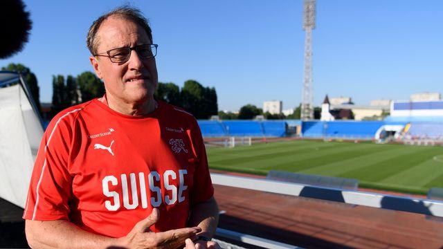 """Claudio Sulser reconnaît qu'il serait plus sage """"de ne pas refaire un tel geste à l'avenir."""" [Laurent Gillieron - Keystone]"""