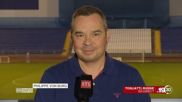 Victoire suisse - Polémique autour du geste de Shaqiri et Djaka: le commentaire de Philippe Von Burg [RTS]