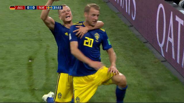 Gr.F, Allemagne – Suède (0-1): 32e, Toivonen ouvre le score! [RTS]