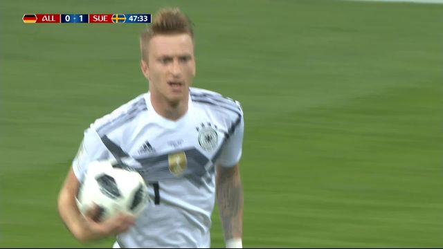 Gr.F, Allemagne – Suède (1-1): 78e, Marco Reus égalise du genou [RTS]