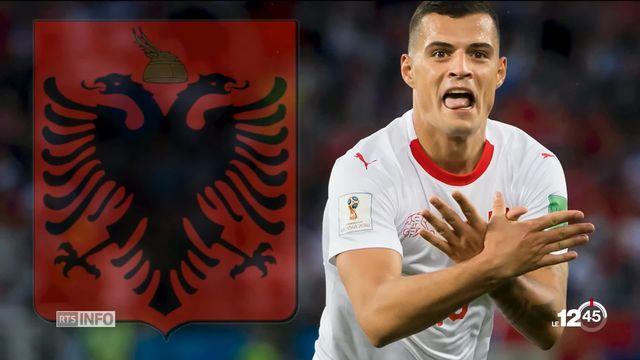 La FIFA ouvre une enquête contre Djaka et Chakiri pour avoir mimé l'aigle du drapeau albanais [RTS]