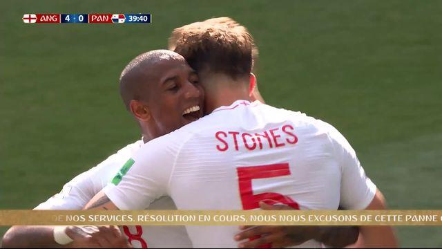 Gr.G, Angleterre – Panama (4-0) : 40e, Stones y va de son doublé [RTS]
