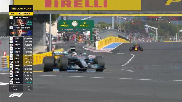 GP de France (n°8) : Hamilton (GBR) s'impose devant Verstappen (NED) et Raikkonen (FIN) [RTS]