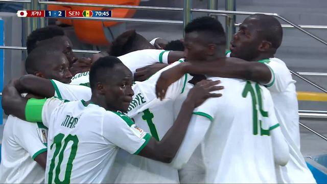 Gr.H, Japon – Sénégal (1-2) : 71e, Wague redonne l'avantage aux Lions de la Teranga [RTS]