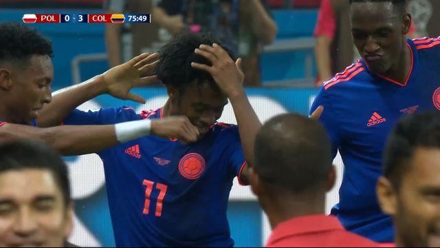 Gr. H, Pologne - Colombie 0-3: 75e Juan Cuadrado [RTS]