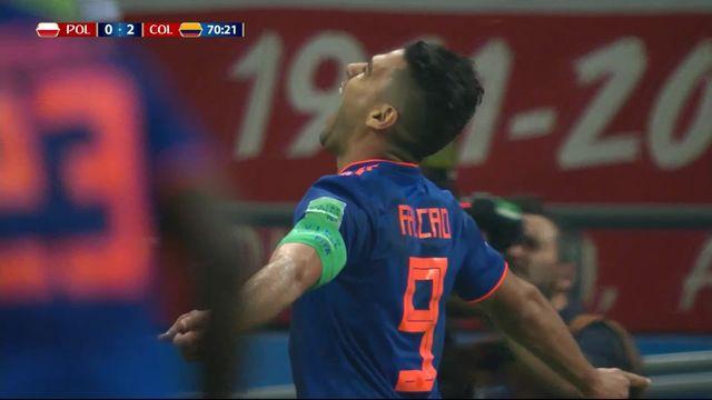 Gr. H, Pologne - Colombie 0-2: 70e Radamel Falcao [RTS]