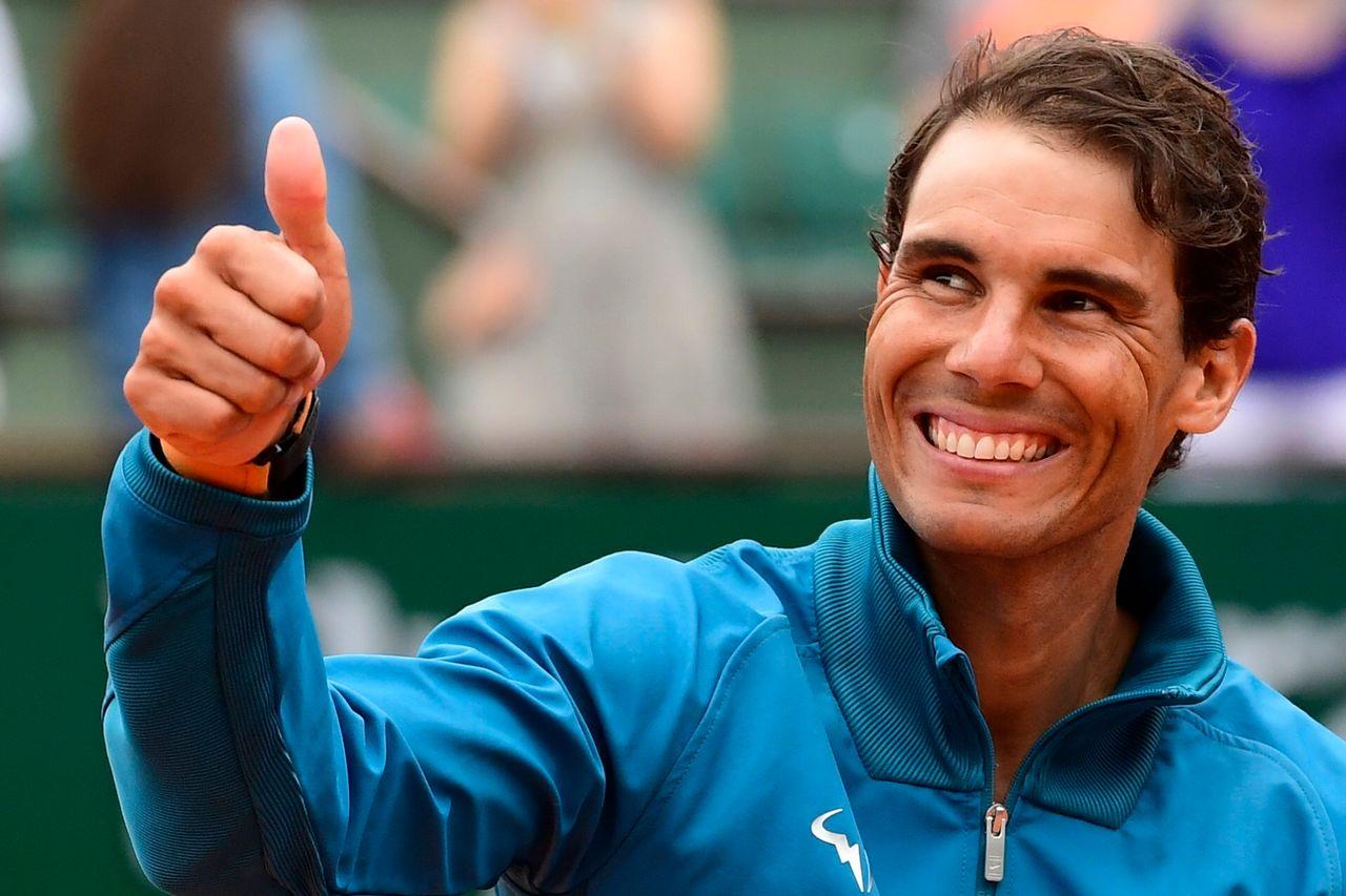 """Rafa"" ne compte que 50 points d'avance sur Federer. [Caroline Blumberg - Keystone]"