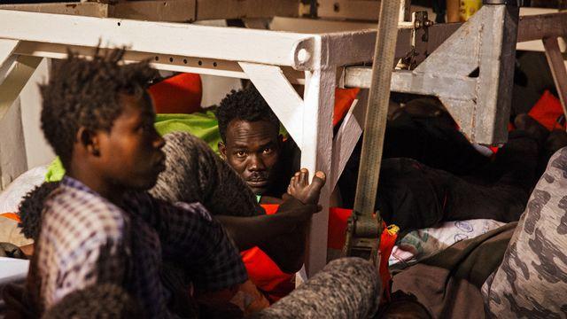 Le système de Dublin, qui prévoit que les migrants soient pris en charge dans le premier pays européen où ils arrivent, est remis en cause. [Felix Weiss - Keystone/EPA]