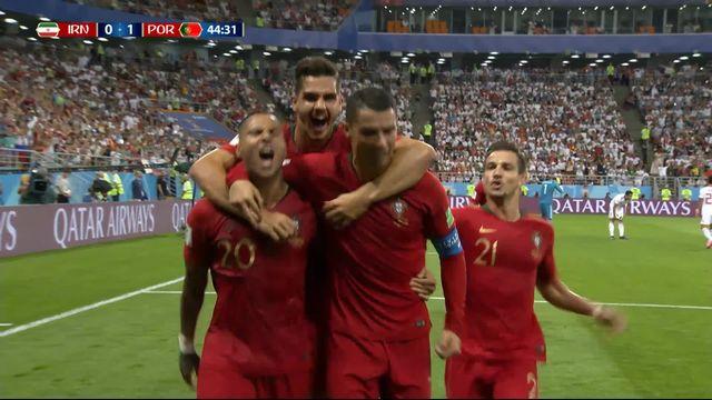 Gr.B, Iran - Portugal (0-1): 45e, magnifique but de Quaresma [RTS]