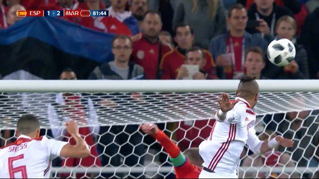 Gr.B, Espagne – Maroc (1-2): 81e, El-Nesyri donne l'avantage au Maroc sur corner! [RTS]