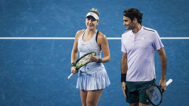 Federer et Bencic disputeront pour la 3e année consécutive la Hopman Cup. [Tony McDonough - Keystone]