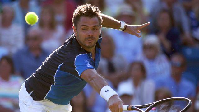 Le capital-confiance de Wawrinka reste bien maigre avant Wimbledon. [Steven Paston - PA/AP/Keystone]