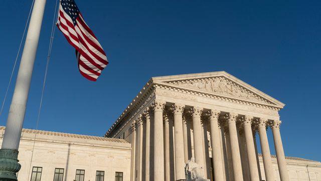 Le bâtiment de la Cour suprême aux Etats-Unis [J. Scott Applewhite - Keystone]