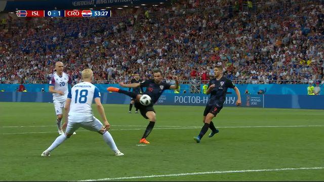 Gr.D, Islande - Croatie (0-1): 53e, Badelj ouvre le score [RTS]