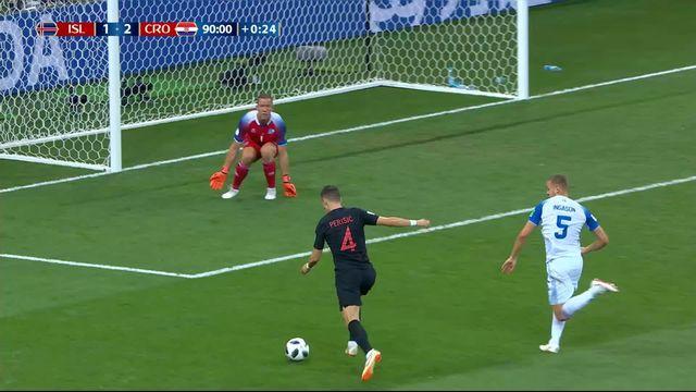 Gr.D, Islande - Croatie (1-2): 90e, Perisic redonne l'avantage à son équipe [RTS]