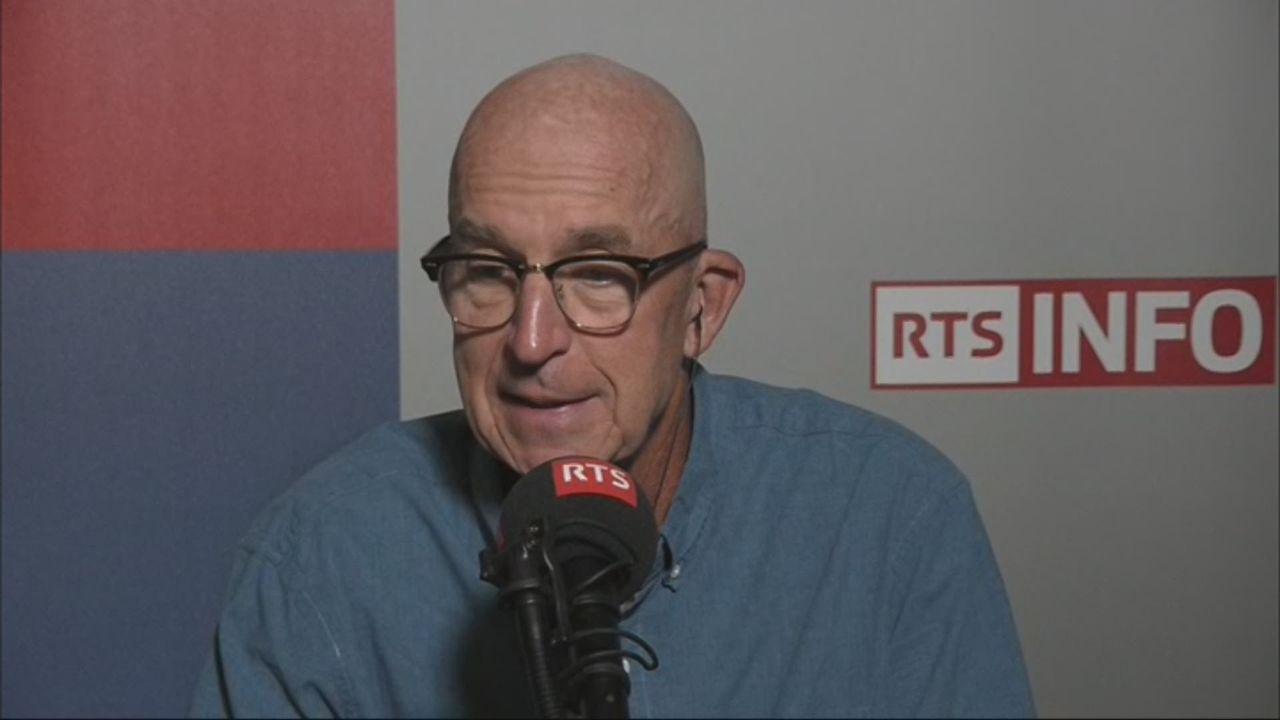 L'invité de Romain Clivaz (vidéo) - Stephen Smith, spécialiste de l'Afrique [RTS]